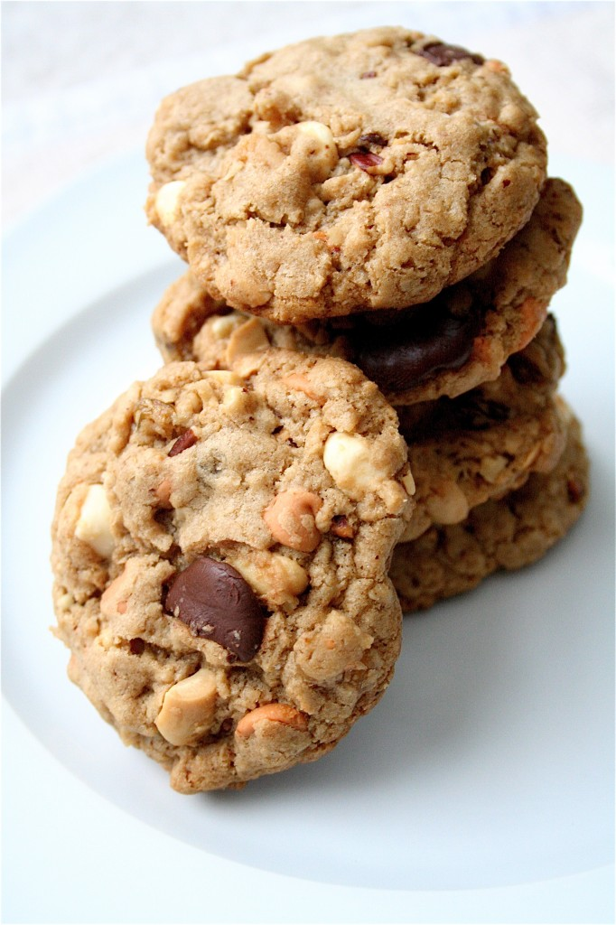 Everything But The Kitchen Sink Cookies kitchen sink cookies | the curvy carrot