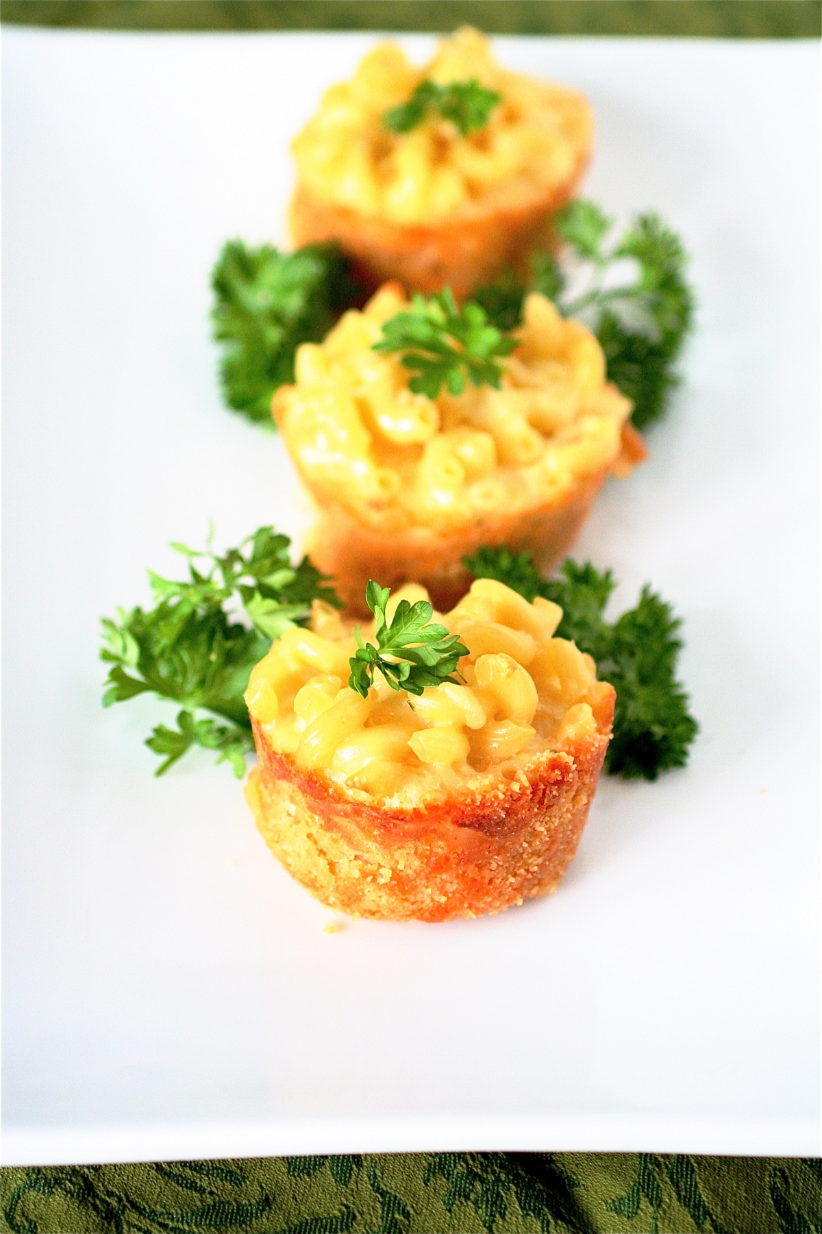 Mini Mac And Cheese Pies And A Virtual Baby Shower | The Curvy Carrot