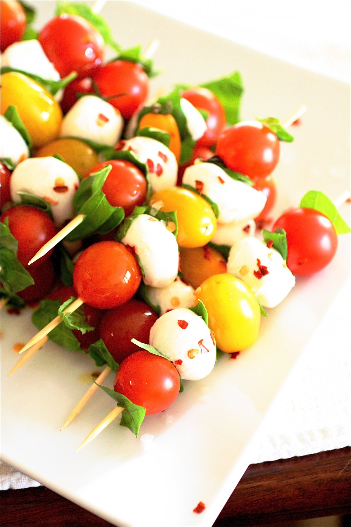 Caprese Skewers The Curvy Carrot