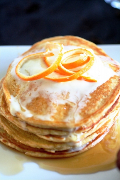 Orange Cloud Pancakes The Curvy Carrot