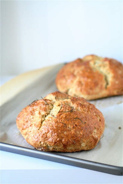 Brown Butter Soda Bread | The Curvy Carrot
