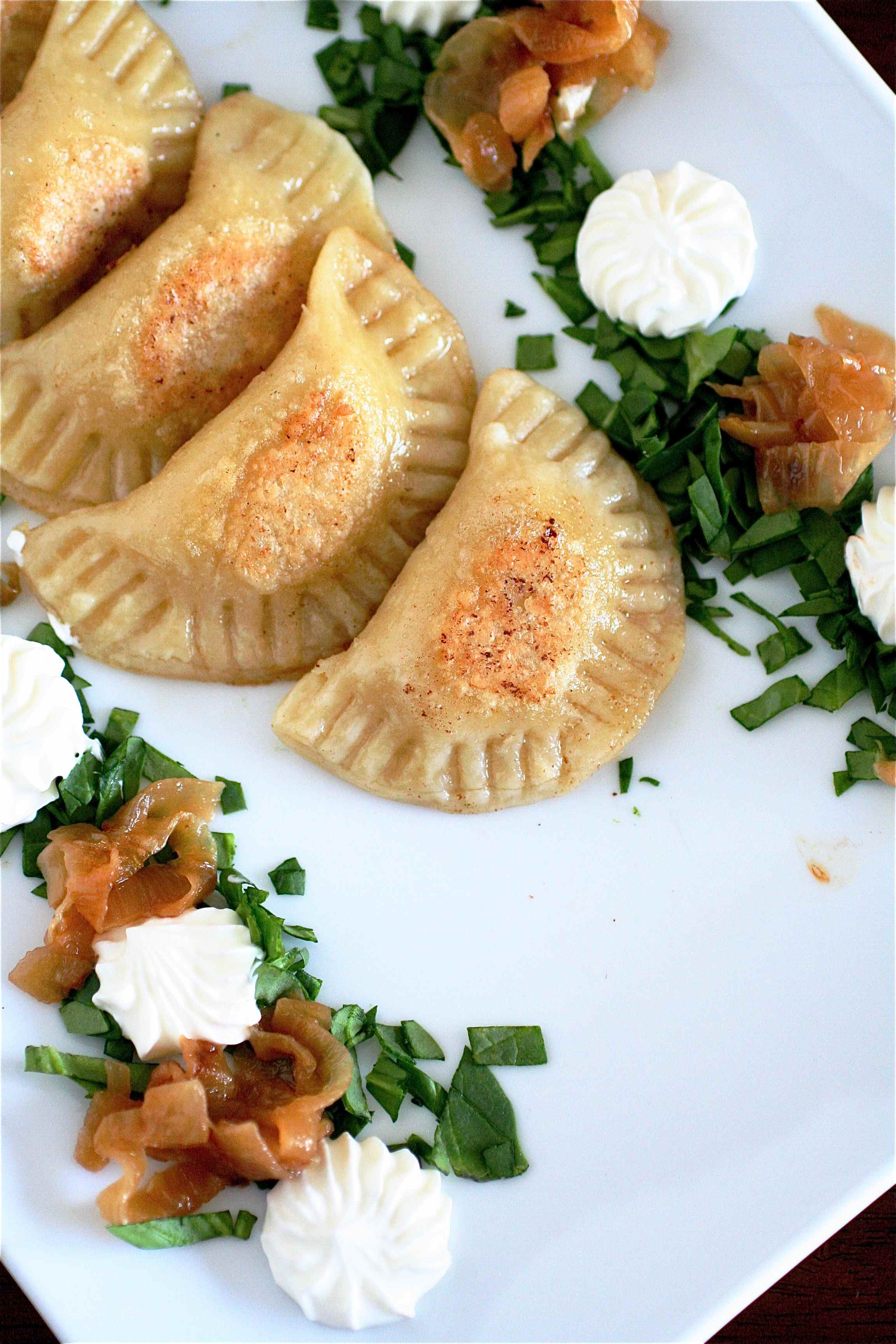 Homemade Pierogi The Curvy Carrot