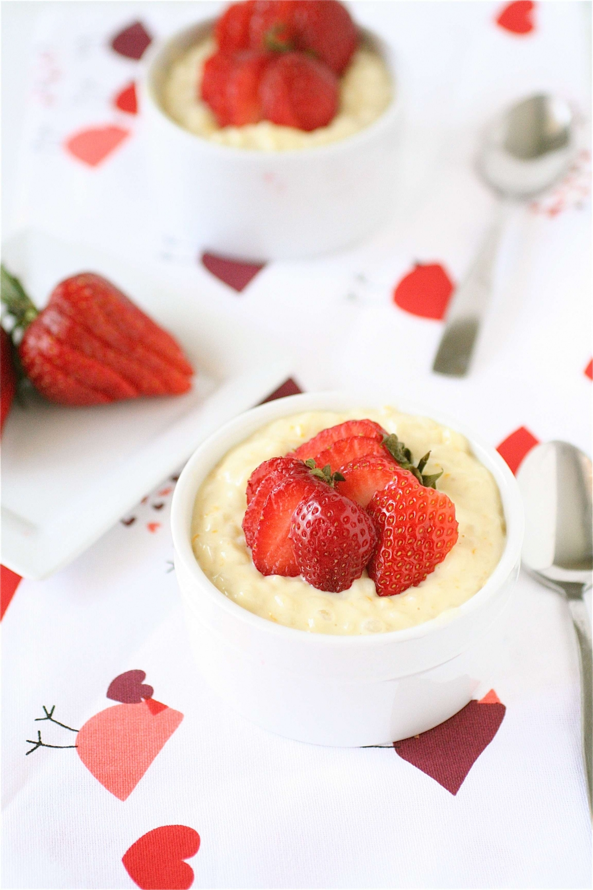 Sweet Orange Risotto With Strawberries | The Curvy Carrot