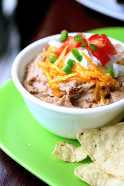 Vegetarian Refried Beans1