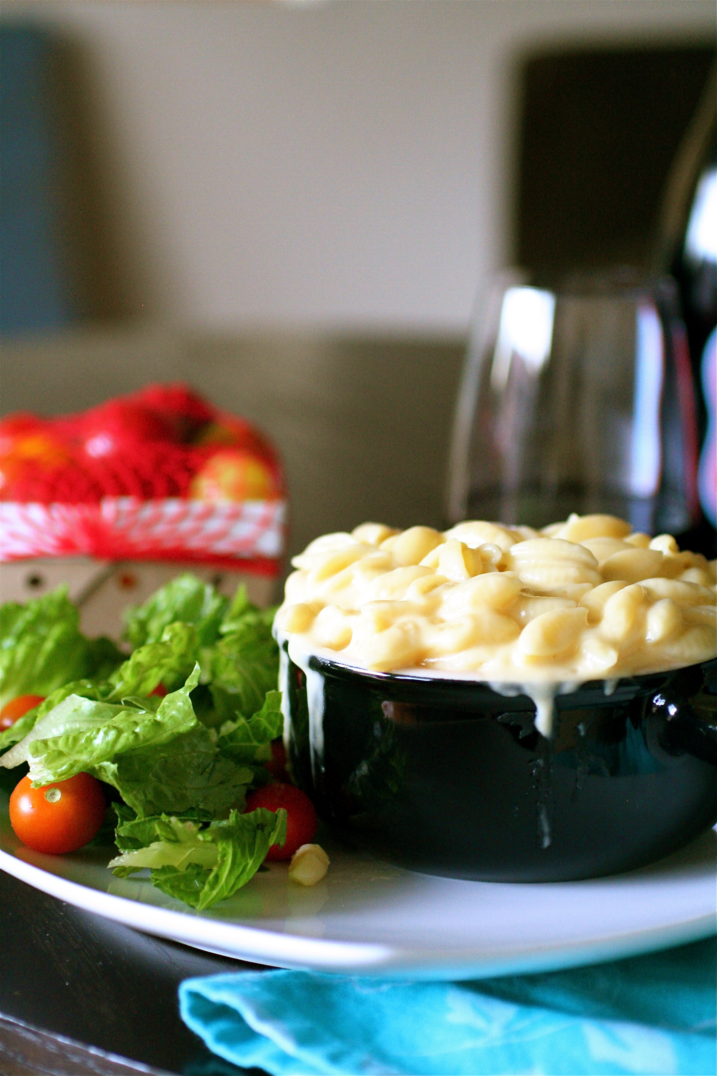 Panera-esque Macaroni And Cheese | The Curvy Carrot