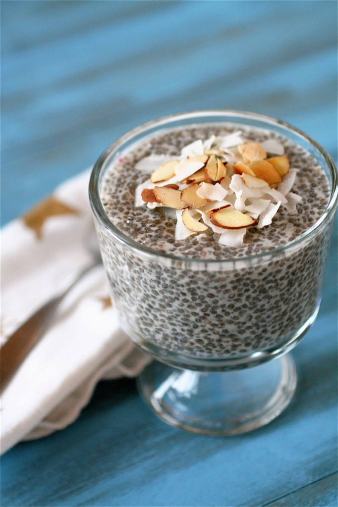 Coconut Almond Chia Seed Pudding The Curvy Carrot