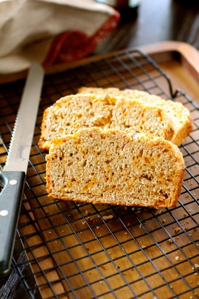 Whole Wheat Beer Cheese Bread The Curvy Carrot
