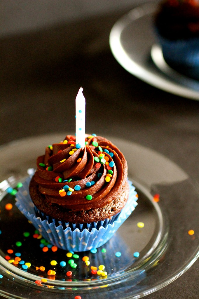 Chocolate Buttermilk Cupcakes With Chocolate Frosting | The Curvy ...