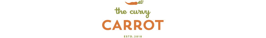 The Curvy Carrot logo