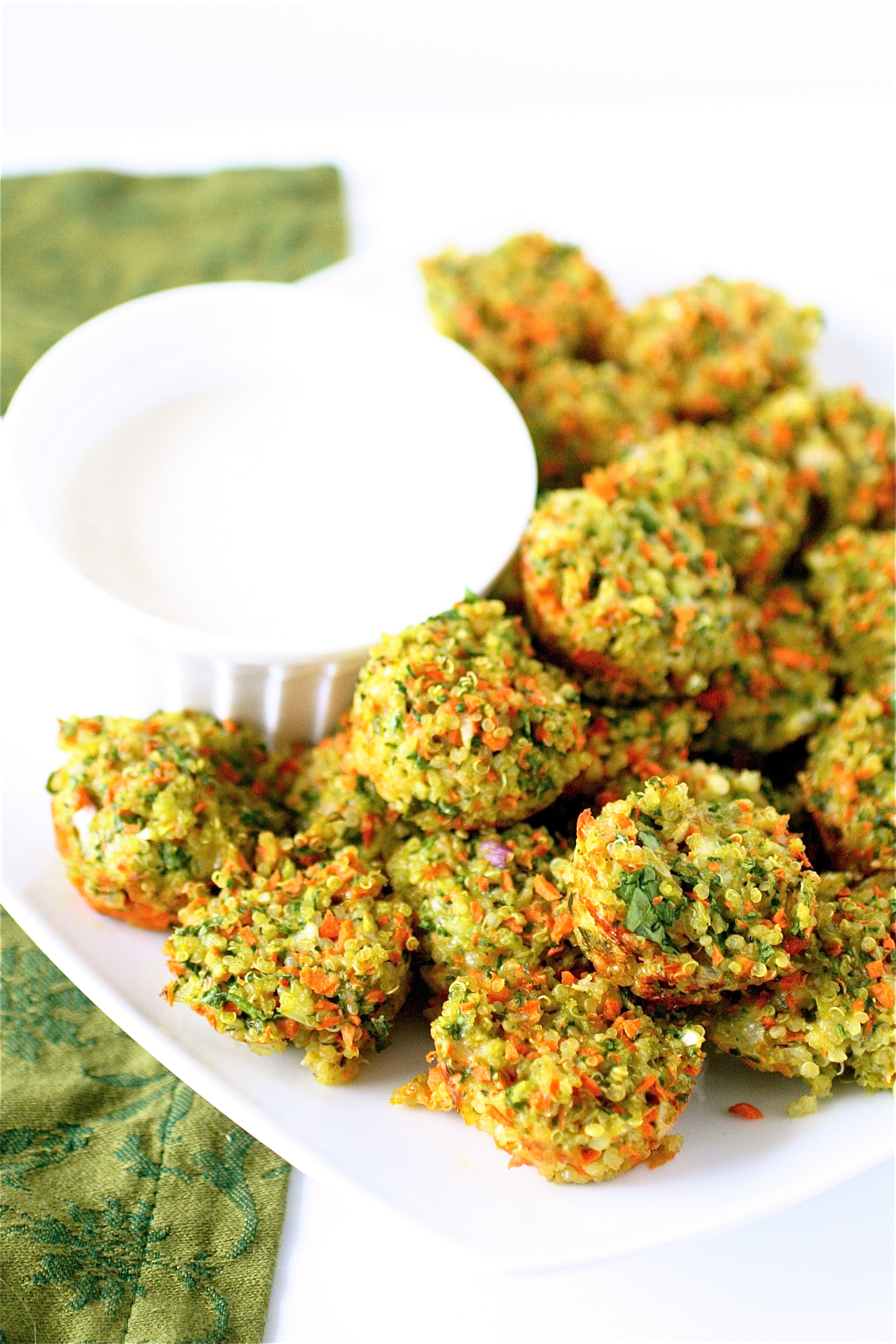 Cheese And Vegetable Quinoa Bites The Curvy Carrot